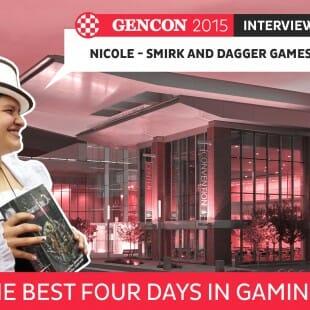 GenCon 2015 – Interview Nicole – Smirk and dagger games – VOSTFR