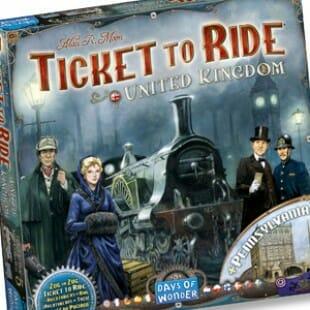Les Aventuriers du Rail – Royaume-Uni pour Essen