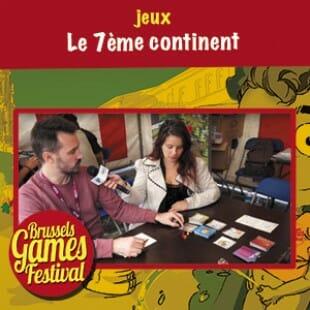 Brussels Games Festival 2015 – Le 7ème continent – Serious Poulp – VF
