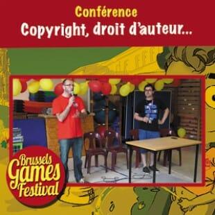 Brussels Games Festival 2015 – Conférence sur le copyright et le droit d'auteur