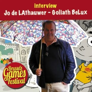 Brussels Games Festival 2015 – Interview Jo de Lathauwer – Goliath BeLux – VF