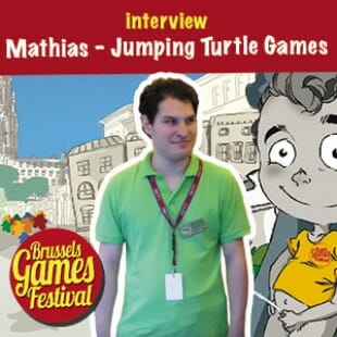 Brussels Games Festival 2015 – Interview Mathias – Jumping Turtle Games – VOSTFR