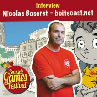 Brussels Games Festival 2015 – Interview Nicolas Boseret – Boitecast – VF