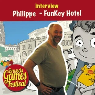 Brussels Games Festival 2015 – Interview Philippe  – FunKey Hotel – VF