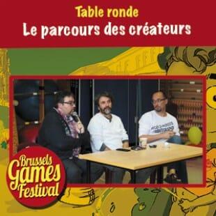 Brussels Games Festival 2015 – Table ronde sur le parcours des créateurs