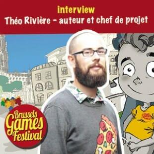 Brussels Games Festival 2015 – Interview Théo Rivière – Auteur et chef de projet – VF