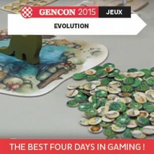 GenCon 2015 – Evolution – North Star Games – VOSTFR