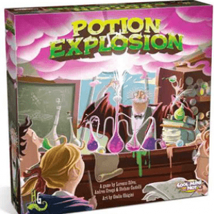 With a little help from the professor : Potion explosion !