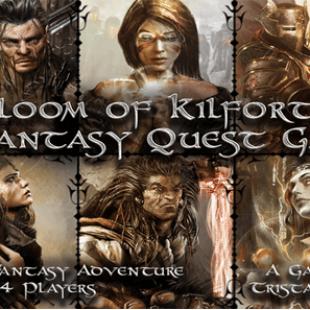 Pour les vieux briscards fantaisistes : Gloom of Kilforth – A Fantasy Quest Game