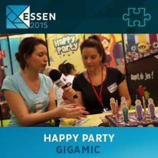 Essen 2015 – jeu Happy party – Gigamic – VF