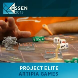 Essen 2015 – jeu Project Elite – Artipia Games – VOSTFR