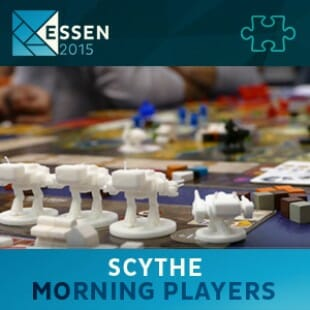 Essen 2015 – jeu Scythe – Morning players – VF