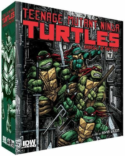 Teenage Mutant Ninja Turtles Shadows of the Past  md