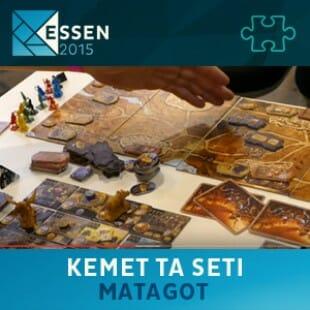 Essen 2015 – jeu Kemet Ta Seti – Matagot – VF