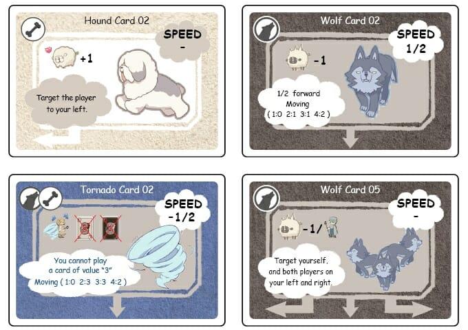 wolf and hound jeu _original