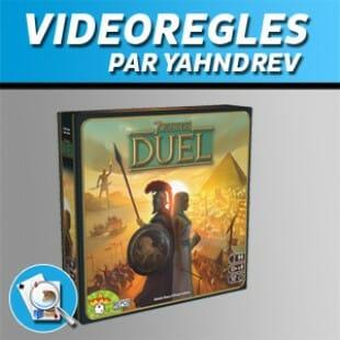 Vidéorègles – 7 wonders duel