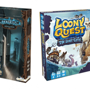 Libellud remet le couvert ! Extensions Loony Quest & Mysterium