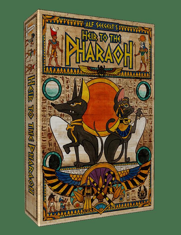 heir to the pharao jeu de societe eagle gryphon games