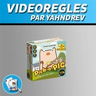 Vidéorègles – Pick a pig