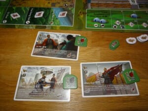 Three kingdoms Redux - quelques cartes