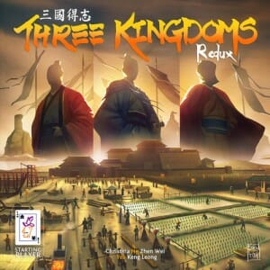 Three kingdoms Redux - Couverture