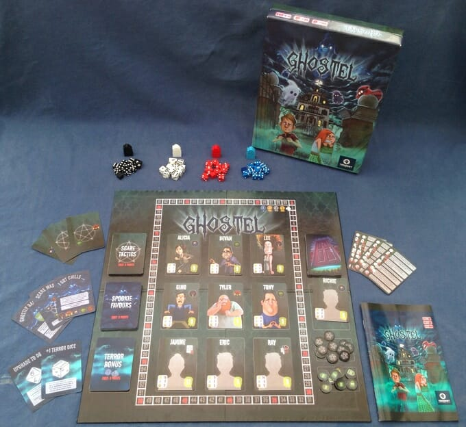 Ghostel The Board Game5