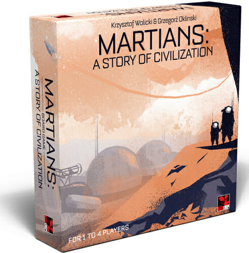 Martians - A story of civilization jeu de societe