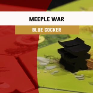 Cannes 2016 – jeu Meeple War – Blue Cocker – VF