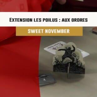 Cannes 2016 – jeu Extension Les Poilus : Aux Ordres – Sweet November – VF