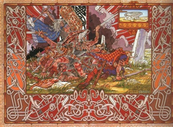 Jim Fitzpatrick - The last battle (1977)