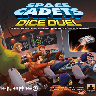 Space Cadets Dice Duel : dans l'espace, on vous entendra bien hurler
