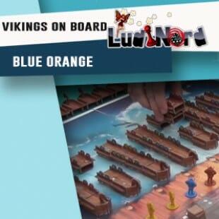 Ludinord 2016 – Jeu Vikings on board – Blue Orange – VF