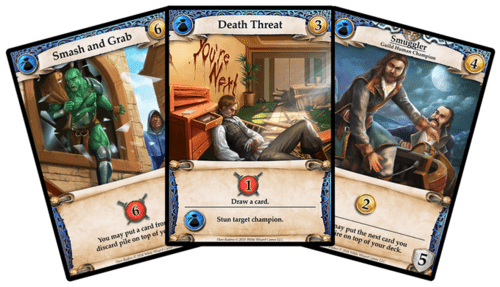 Hero Realms cartes