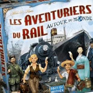 Les aventuriers du rail, around the world around the world