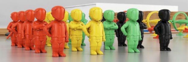 visuels 3D des pionniers imaginés par Marcelo Bastos et réalisés par l'artiste 3D grec Nasos Apollonatos.