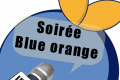Une Orange Bleue sur un bateau