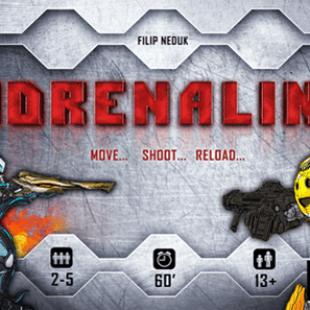 Adrenaline, le premier First Person Shooter sur table