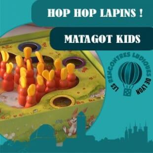 Rencontres Ludiques 2016 – Jeu Hop Hop Lapins – Matagot kids – VF