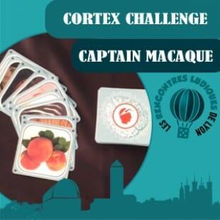 Rencontres Ludiques 2016 – Jeu Cortex Challenge – Captain Macaque – VF