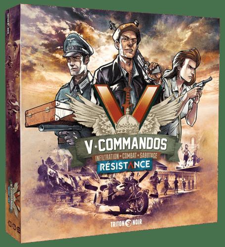 V-Commandos Résistance pack
