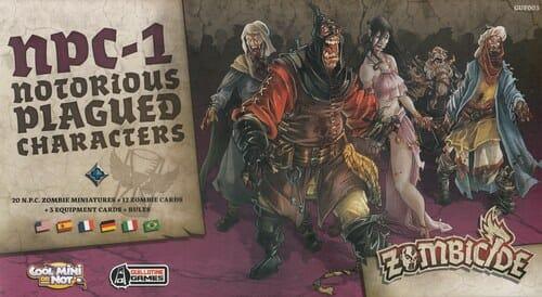 Zombicide Black Plague – NPC-1