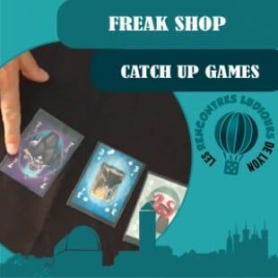 Rencontres Ludiques 2016 – Jeu Freak Shop – Catchup Games – VF