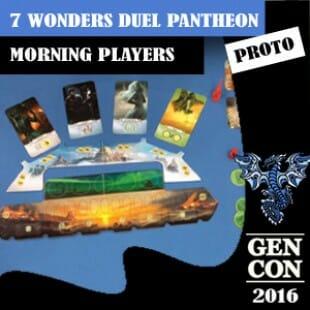 GenCon 2016 – Jeu 7 Wonders Pantheon – Repos Production – VF