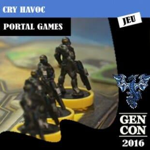 GenCon 2016 – Jeu Cry Havoc – Portal Games – VOSTFR
