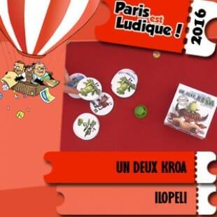 Paris est ludique 2016 – Jeu 1 2 Kroa – Ilopeli – VF