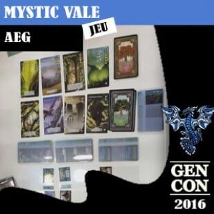 GENCON 2016 – Mystic Vale – AEG – VOSTFR