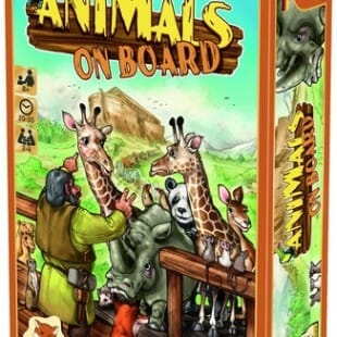 Animal à bord