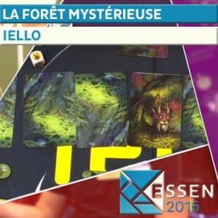 Essen 2016 – Jeu La forêt mystérieuse – Iello – VF