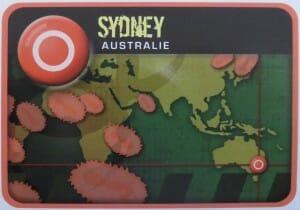 Petite infection à Sidney