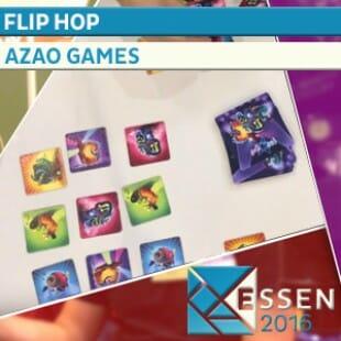 ESSEN 2016 – JEU FLIP HOP – AZAO GAMES – VF